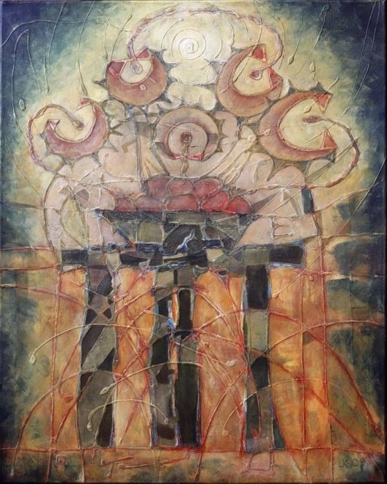 Jedáci zemiakov[The Potato Eaters] 61x 76cm,2009a
