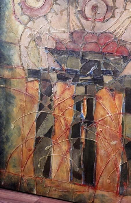 Jedáci zemiakov[The Potato Eaters] 61x 76cm,2009b