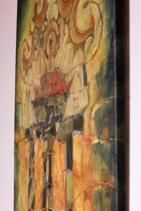 Jedáci zemiakov[The Potato Eaters] 61x 76cm,2009c